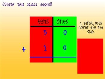 Introduction to Double Digit Addition and Subtraction Mimio