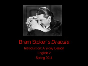 Introduction to Dracula and Vampire Literature/Film