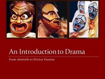Introduction to Drama (AP) -- PowerPoint