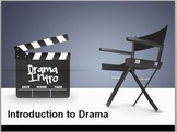Introduction to Drama: Elements of a Play - Adaptable .doc and .ppt