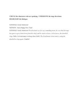 Introduction to Drama Test/Quiz