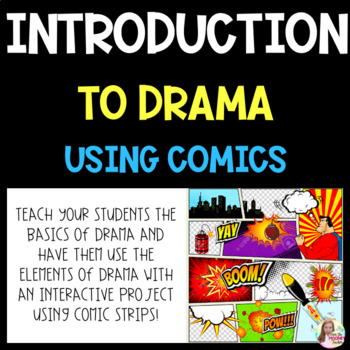 Introduction to Drama Using Comics