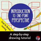 [ART LESSON] Introduction to Drawing 1-pt Perspective: Step by Step Tutorial