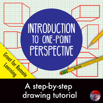 [ART LESSON] Introduction to Drawing 1-pt Perspective: Ste