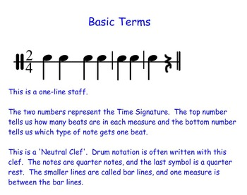 Introduction to Drums and Rhythm