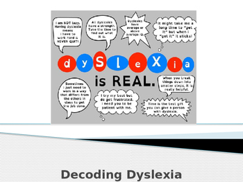 Introduction to Dyslexia PPT