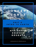 Introduction to Earth - Concept Cards
