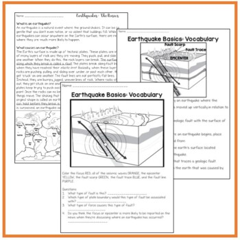 Introduction to Earthquakes