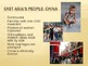 Introduction to East Asia Power Point Presentation