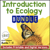 Introduction to Ecology Bundle | Printable and Digital Distance Learning