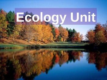Introduction to Ecology Day#1