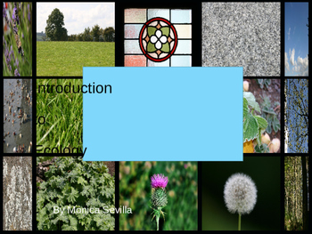 Introduction to Ecology ppt