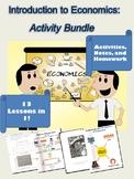 Introduction to Economics Activity Bundle
