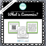 Introduction to Economics Customizable Escape Room / Breakout Game