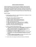 Introduction to Economics - Essay Scaffold