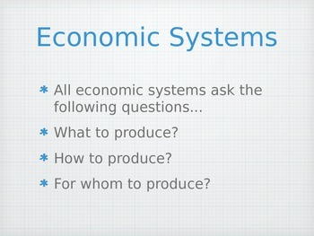 Introduction to Economics, Middle School