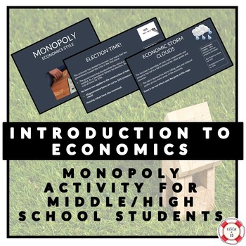 INTRODUCTION TO ECONOMICS - MONOPOLY ACTIVITY
