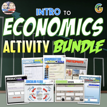 Introduction to Economics Unit Activity Bundle