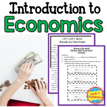Economics - Close Reading, Task Cards and More!
