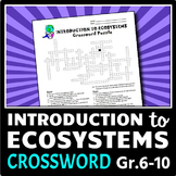 Ecosystems - Crossword {Editable}