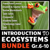 Ecosystems - LESSON BUNDLE {Editable}