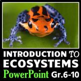 Ecosystems - PowerPoint {Editable}
