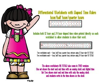 Introduction to Elapsed Time Using An Elapsed Time Ruler