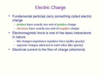 Introduction to Electricity and Simple Circuits - Physics Quick Review