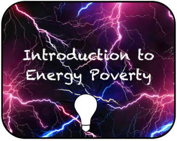 Introduction to Energy Poverty
