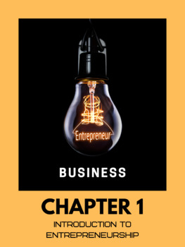 Introduction to Entrepreneurship (Business) - Chapter 1