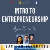 Entrepreneurship Unit Activities & Project - Introduction