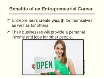 Introduction to Entrepreneurship and Small Business Operations