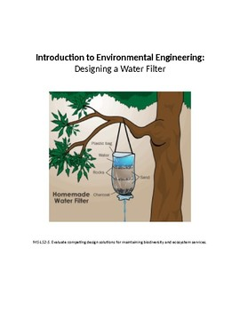 Introduction to Environmental Engineering: Designing a Water Filter