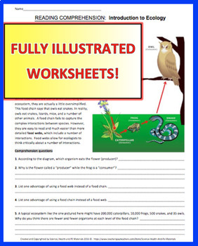 30 Environmental Science Worksheet Packet - Worksheet ...