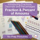 Equivalent Fractions and Decimals Worksheets/Printables