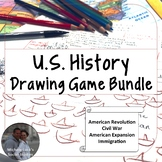 Introduction to Eras in American History Drawing & Mapping