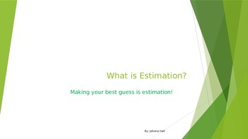 Introduction to Estimation