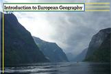 Introduction to European Geography - Prezi Lesson
