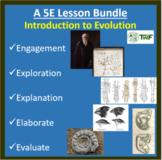 Introduction to Evolution - 5E Lesson Bundle