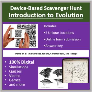 Introduction to Evolution – A Digital Scavenger Hunt Activity