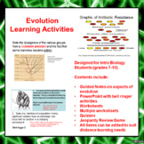 Evolution Lesson Activities