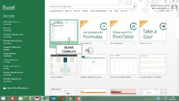 Lesson 2 - Introduction to Excel Work Book