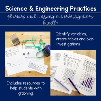 Experimental Design Bundle for Middle School (NGSS)