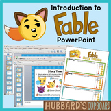 Introduction to Fable Genre PowerPoint Using Setting, Events, and Characters