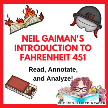 Introduction to Fahrenheit 451 : Reflections on Neil Gaiman essay