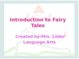 Introduction to Fairy Tales PowerPoint