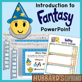 Introduction to Fantasy Genre PowerPoint Using Setting, Events, and Characters