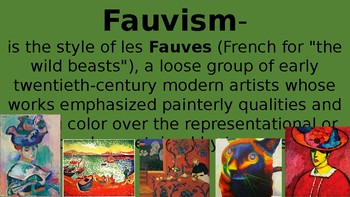 Introduction to Fauvism