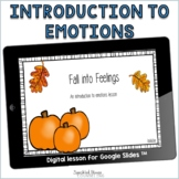 Introduction to Feelings digital lesson for Elementary Sch