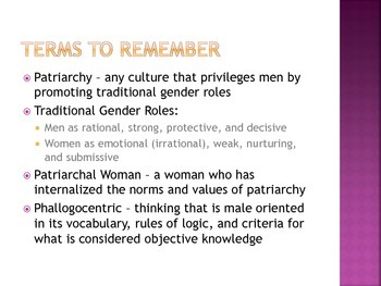 Introduction to Feminist Criticism (Presentation)